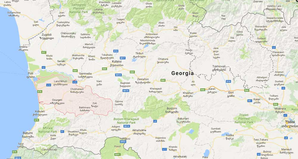 Guria - A Region in Georgia